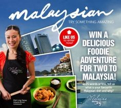 Win A Holiday To Malaysia