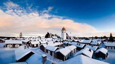 Gammelstad Church Town, Luleå, Sweden.
