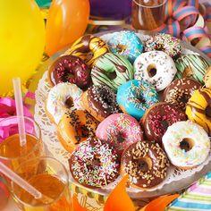 Doughnuts, Parties, Desserts, Inspiration, Food, Healthy, Fiestas, Tailgate Desserts, Biblical Inspiration
