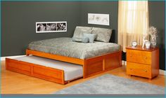 queen beds with trundles