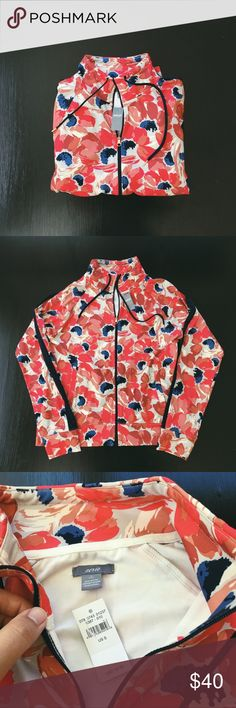 NWT aerie Floral Sweatshirt Brand new with tags beautiful aerie floral sweatshirt. Never been worn just have too many clothes to keep this haha. Smoke-free home :) aerie Tops Sweatshirts & Hoodies