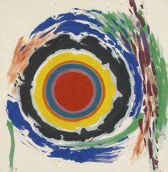 Kenneth Noland (1924-2010) Heat 1958 (165 by 160 cm)