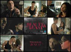 SEASON 3 BEAUTY & THE BEAST PREMIERES THURSDAY JUNE 11 on CW 8/7c #BATB