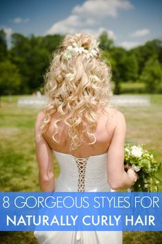 8 Gorgeous Styles for Naturally Curly Hair This is what I' e been searching for!