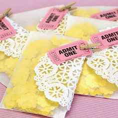 Confetti Paper Bags Kit - wedding favours