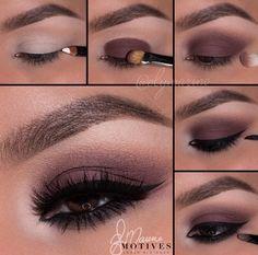 Cute eye makeup idea for fall #eyemakeup #fall