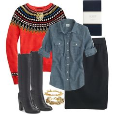 """Wearing 1/22/2013"" by my4boys on Polyvore"