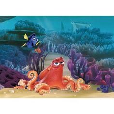 Némó, Szenilla faltapéta x 115 cm) Transformers, Desert Island, Finding Nemo, Decoration, Underwater, Dinosaur Stuffed Animal, Lion Sculpture, Blues, Wallpaper