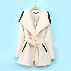 $41.00 | Double-breasted wool coat jacket