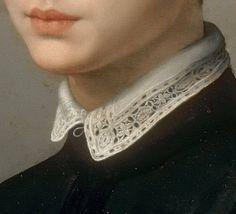 "uconstruction: "" Agnolo Bronzino (1503-1572 Italian) • Portrait of a Man Holding a Statuette Ca 1544–1545 - Detail """