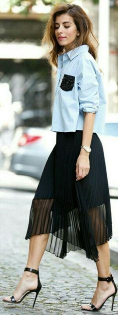 Shirt, Pinko  Skirt, Pinko  Stilettos, Gianvito Rossi