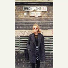 Polka dots london shoreditch street style lol imagine j'suis épinglée #chic #london #streetstyle