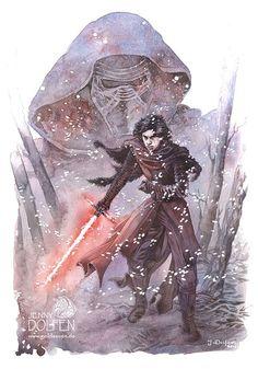 The Force, Awakened | Jenny Dolfen Illustration