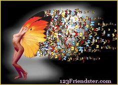 Butterfly release.