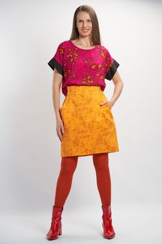 Vellamo Shirt - Purple :: Vuurran.fi Seventh Wave, Black Fabric, Fabric Patterns, Woven Fabric, Lace Skirt, Elegant, Purple, Shirts, Collection