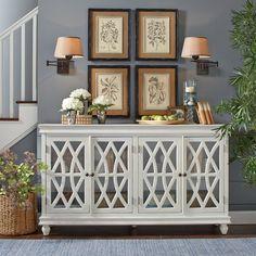 Reflections White Storage Cabinet | White storage cabinets ...