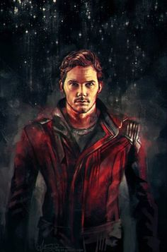 Guardians of the galaxy fan art Star Lord Marvel Comics, Marvel 3, Marvel Universe, Marvel Heroes, Marvel Fan Art, Star Lord, Dead Pool, Captain America, Hulk