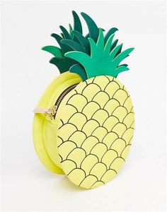 Give any outfit a tropical twist with this pineapple bag.