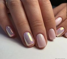Nail art is a very popular trend these days and every woman you meet seems to have beautiful nails. It used to be that women would just go get a manicure or pedicure to get their nails trimmed and shaped with just a few coats of plain nail polish. Fancy Nails, Trendy Nails, Fancy Nail Art, Nude Nails, My Nails, Acrylic Nails Chrome, Pink Chrome Nails, Chrome Nail Art, S And S Nails
