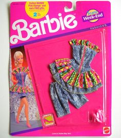Extra barbie outfits