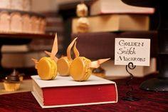 So cute! Styled Shoot: Harry Potter Wedding Inspiration #WeddingPlanning #Dessert #HarryPotter