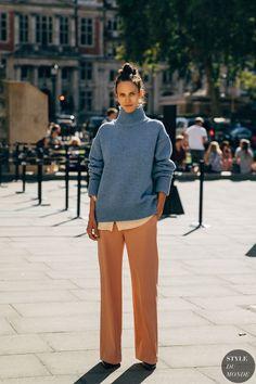 London SS 2020 Street Style: Aymeline Valade - STYLE DU MONDE | Street Style Street Fashion Photos A