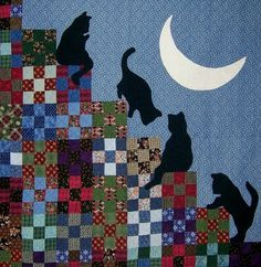 The Best of Cat Quilts!  Part Three