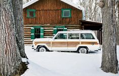 A Cabin in the Woods | McGuire's 1989 Jeep Wagoneer