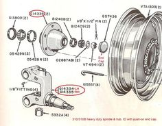 Case 310B Front suspension parts - Yesterday's Tractors