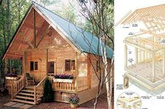 You Can Build This Adorable A-Frame Cabin for $6,050