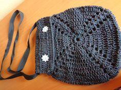 Bolsa de Crochê, diversas cores. Peça já a sua!!! R$ 25,00