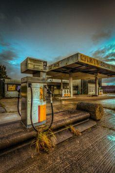 Abandoned Gas Station ...