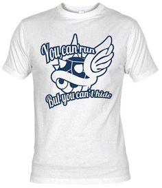 Camiseta Blue Shell por Demonigote