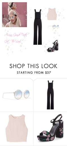 """♡ I Got Faith In You Baby: Ariana Grande Get The Look ♡"" by kaylalovesowls ❤ liked on Polyvore featuring See by Chloé and SemSem"
