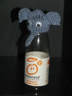 The Big Knit Challenge for Innocent Smoothies Knitting Designs, Knitting Patterns Free, Knit Patterns, Free Knitting, Knitting Projects, Knitting Ideas, Free Pattern, Crochet Animal Patterns, Stuffed Animal Patterns
