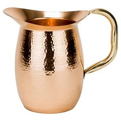 Solid Copper Hammered Pitcher, 64 Oz $ 56.00
