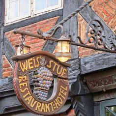 Ribe Weis Stue Guild Sign by Atelier Teee, via Flickr