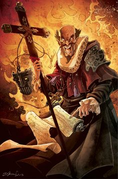 Mascarade - L'inquisiteur : Jeremy Masson Tarot, Dnd Characters, Character Design, Character Concept, Concept Art, Masquerade, Game Art, Board Games, Illustration