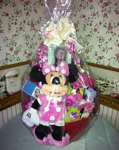 Minnie mouse easter basket by vyjcreations on etsy 2500 disney minnie mouse easter basket by cacbaskets on etsy 7999 negle Images