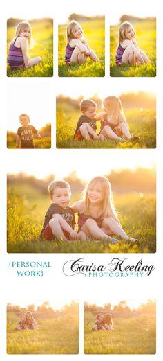 Beautiful sunset kids pics