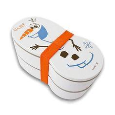 Sale! Frozen Olaf Lunch box Disney Bento Snowman Lacquerware Let It Go Japan New