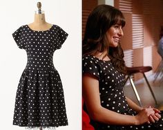 Anthropologie Dropped Dots Dress - $158.00 Worn with: Prada pumps