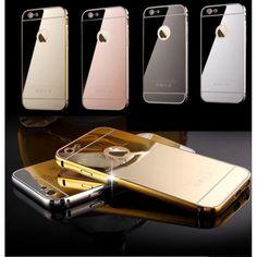 Cover  SAMSUNG A5 2016 A510 MIRROR STILEITALIANO in alluminio  x 1 pz #Falconmegastore #cover #cellulare #smartphone #samsug #iphone #huawei #nokialumia #lg #alluminio #damascato