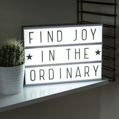 Spell Your Own Message Cinema Light Box - Party Dept - Berylune