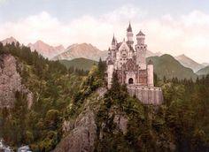 Neuschwanstein Castle, Germany.