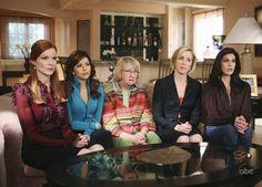 Desperate Housewives: Bree, Gaby, Karen, Lynette, and Susan
