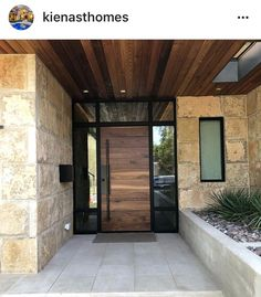 I love this front door for our house! Modern Entrance Door, Modern Exterior Doors, Modern Front Door, House Entrance, Exterior Front Doors, House Front Design, House Front Door, House Doors, Modern House Design