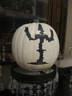 Decoupage your pumpkin @ Purple Chocolat Home: Halloween