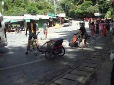 Chiang Mai trip two babies on a bike