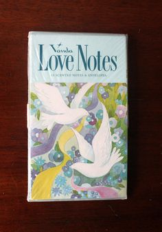 Note Cards Vanda Love Notes 15 Scented Notes and by LifesAYoyo